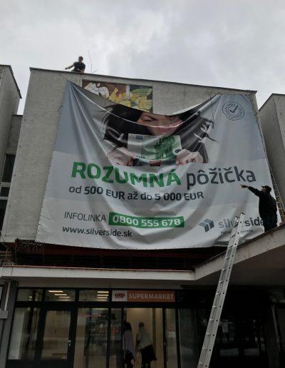 Veľkoplošný banner