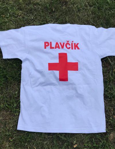 Tričko s potlačou Plavčík